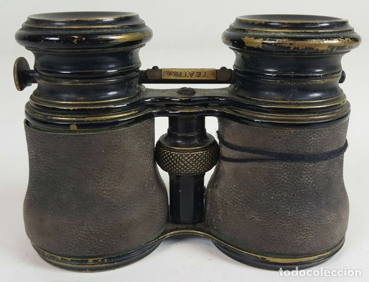 Antigüedades: BINOCULARES DE OPERA. FUNDA DE TELA. TEATRO CAMPO MARINA. SIGLO XIX. - Foto 5 - 110185055