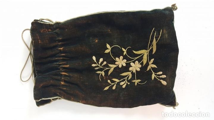 Antigüedades: BINOCULARES DE OPERA. FUNDA DE TELA. TEATRO CAMPO MARINA. SIGLO XIX. - Foto 8 - 110185055