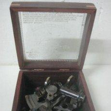 Antigüedades: BONITO SEXTANTE KELVIN & HUGHES LONDON 1917 , COMPLETO EN SU CAJA DE MADERA. Lote 180958420