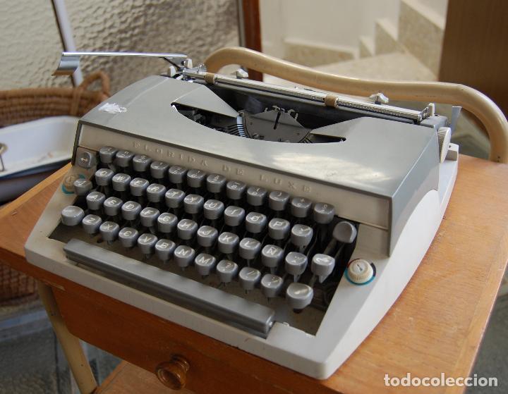 MAQUINA DE ESCRIBIR FLORIDA DE LUXE (Antigüedades - Técnicas - Máquinas de Escribir Antiguas - Otras)