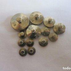 Antigüedades: PESAS EN QUILATES O CARAT PARA EL PESO DE DIAMANTES. Lote 111226856