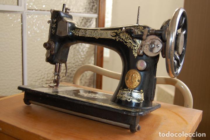 Antigüedades: MAQUINA DE COSER SINGER NUMERADA - Foto 2 - 110262583