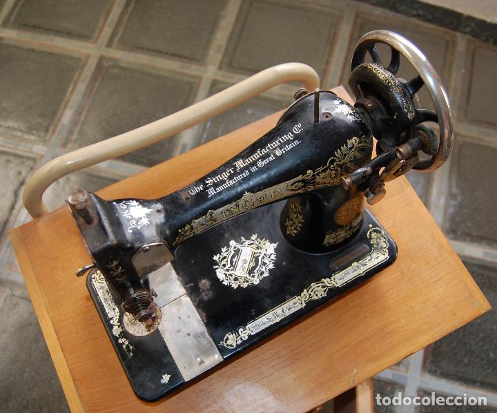 Antigüedades: MAQUINA DE COSER SINGER NUMERADA - Foto 3 - 110262583