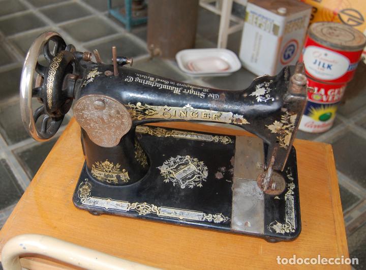 Antigüedades: MAQUINA DE COSER SINGER NUMERADA - Foto 5 - 110262583