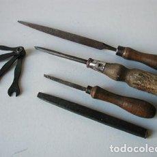Antigüedades: HERRAMIENTAS DE CARPINTERÍA ANTIGUAS. Lote 110304035