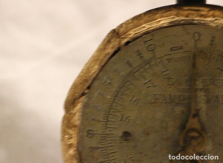 Antiquitäten: balanza de cocina sobre 1920 inglesa marca salters - Foto 3 - 110409323