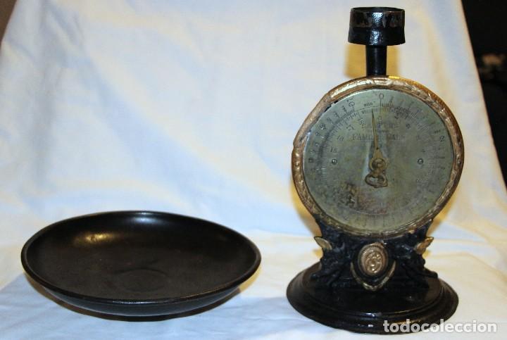 Antiquitäten: balanza de cocina sobre 1920 inglesa marca salters - Foto 8 - 110409323