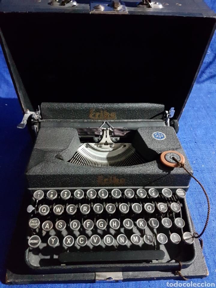 MÁQUINA DE ESCRIBIR ERIKA (Antigüedades - Técnicas - Máquinas de Escribir Antiguas - Erika)