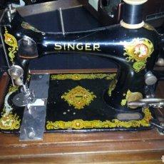 Antigüedades: MAQUINA DE COSER SINGER. Lote 110449515