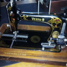 Antigüedades: MAQUINA DE COSER VESTA - B. Lote 110450683