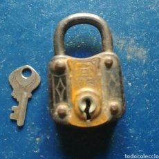 Antigüedades: CANDADO RGM. Lote 110476110