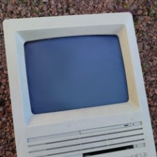 Antigüedades: MONITOR DE APPLE MACINTOSH SE 1/20- VINTAGE, 1988. ENCIENDE.. Lote 110510031
