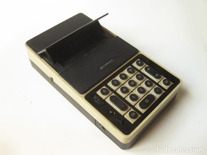 PRIMITIVA CALCULADORA SANYO ICC-800 - ELECTRONIC CALCULATOR - AÑOS 70 (Antigüedades - Técnicas - Aparatos de Cálculo - Calculadoras Antiguas)