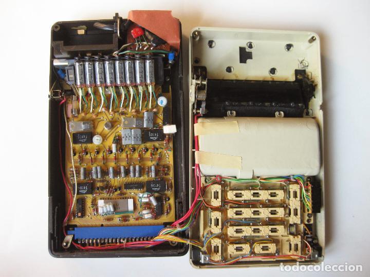 Antigüedades: PRIMITIVA CALCULADORA SANYO ICC-800 - ELECTRONIC CALCULATOR - AÑOS 70 - Foto 8 - 110708387