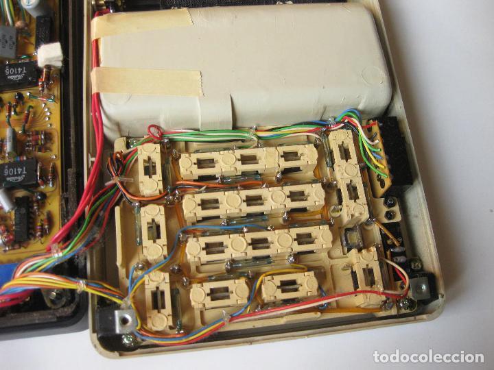 Antigüedades: PRIMITIVA CALCULADORA SANYO ICC-800 - ELECTRONIC CALCULATOR - AÑOS 70 - Foto 9 - 110708387