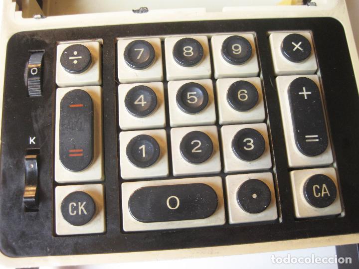 Antigüedades: PRIMITIVA CALCULADORA SANYO ICC-800 - ELECTRONIC CALCULATOR - AÑOS 70 - Foto 12 - 110708387