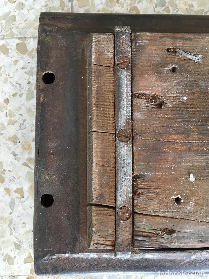 Antigüedades: ANTIGUO MOLDE DE LADRILLOS. PIEZA MUY RARA - Foto 15 - 110835691