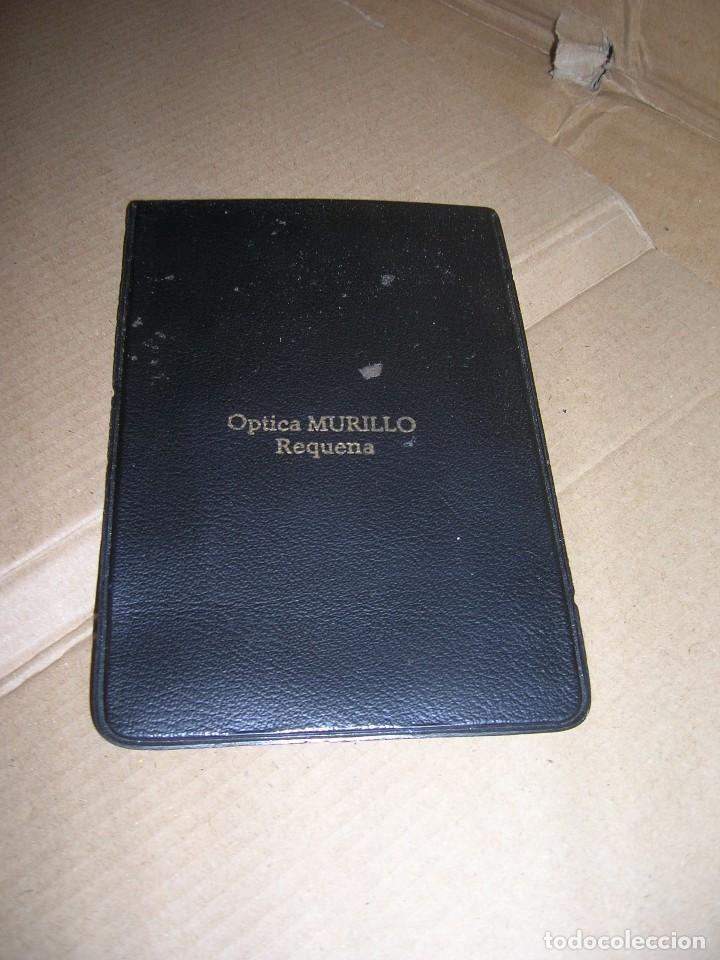 Antigüedades: Antiguas gafas graduadas Indo Frame Spain. Modelo Giraldina. Optica Murillo, Requena. - Foto 2 - 110927231