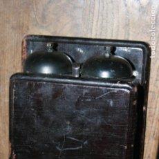 Teléfonos: CONJUNTO DE CAMPANA PARA TELÉFONO MACA 235 MIDE.25 X 17 X 10 CMS.. Lote 110955823