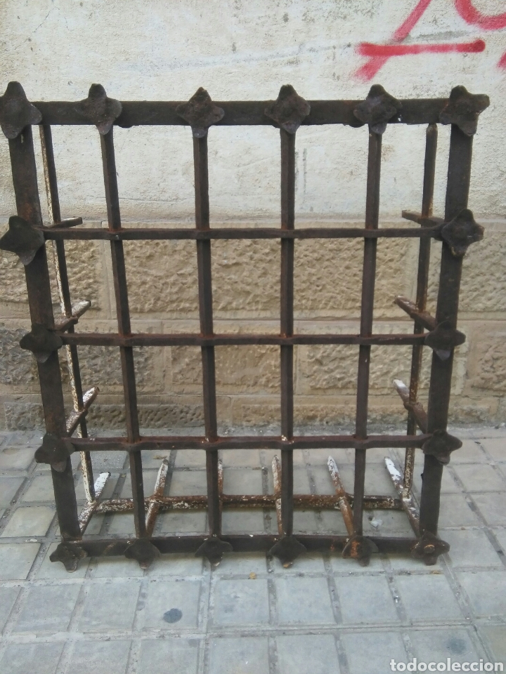 REJA DE FORJA SIGLO XVII (Antigüedades - Técnicas - Cerrajería y Forja - Forjas Antiguas)