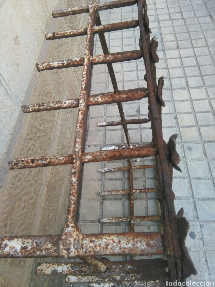 Antigüedades: Reja de forja siglo XVII - Foto 3 - 110996096