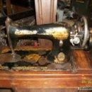 Antigüedades: ANTIGUA MAQUINA DE COSER SINGER-FUNCIONA. Lote 111055247