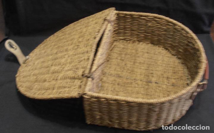 Antigüedades: CESTA ANTIGUA, RUSTICA - Foto 3 - 219572108