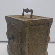 Antigüedades - ANTIGUA CAJA FUERTE. SIGLO XIX. THE J&F SLEVEN CO, U.S.A. 1897. DE HIERRO. FUNCIONA. VER FOTOS - 117393374