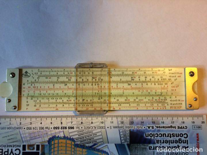 Antigüedades: Regla de Cálculo Faber Castell 1970´s - Foto 2 - 111224899