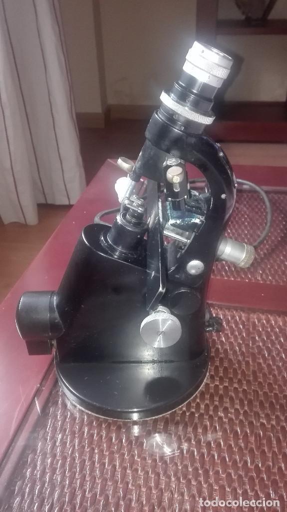 LENSOMETRO ANTIGUO ALEMÁN ZEISS WINKEL.AÑOS 40-50 (Antigüedades - Técnicas - Instrumentos Ópticos - Microscopios Antiguos)