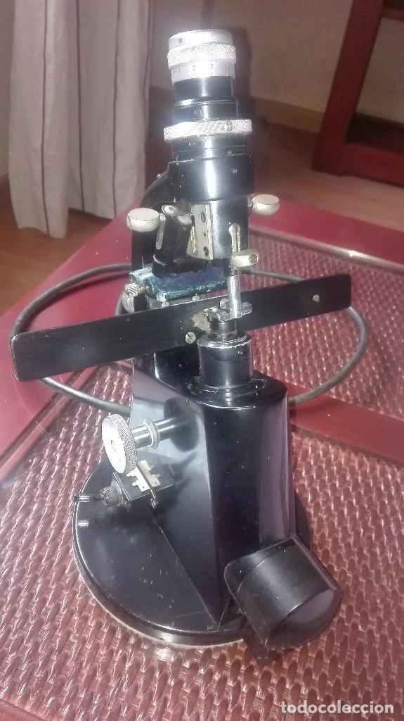 Antigüedades: Lensometro antiguo alemán Zeiss Winkel.años 40-50 - Foto 4 - 111274759