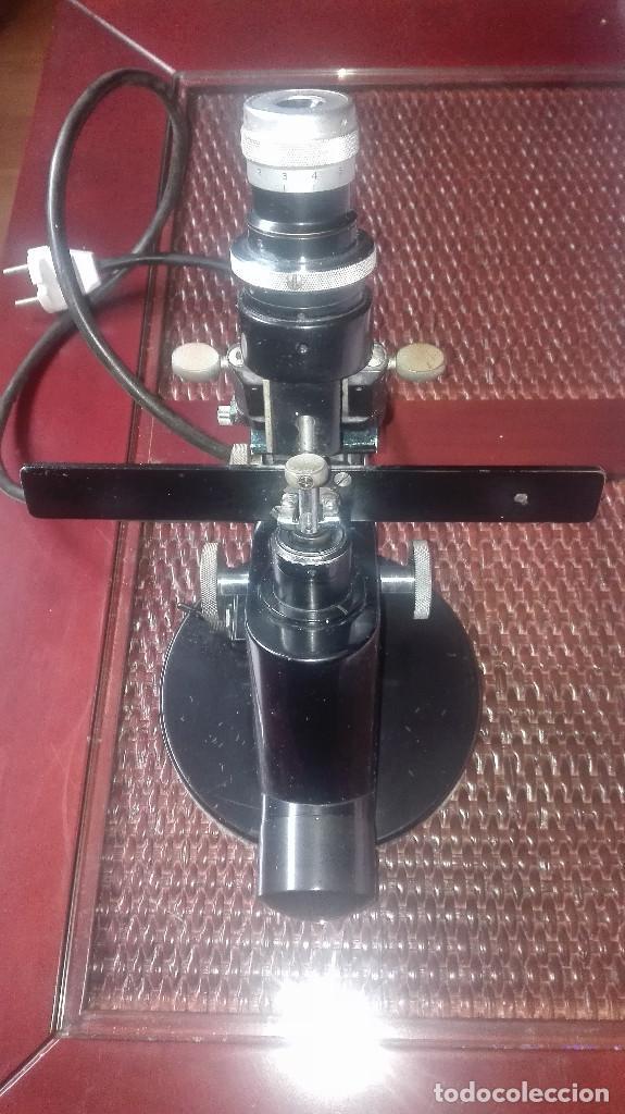 Antigüedades: Lensometro antiguo alemán Zeiss Winkel.años 40-50 - Foto 8 - 111274759