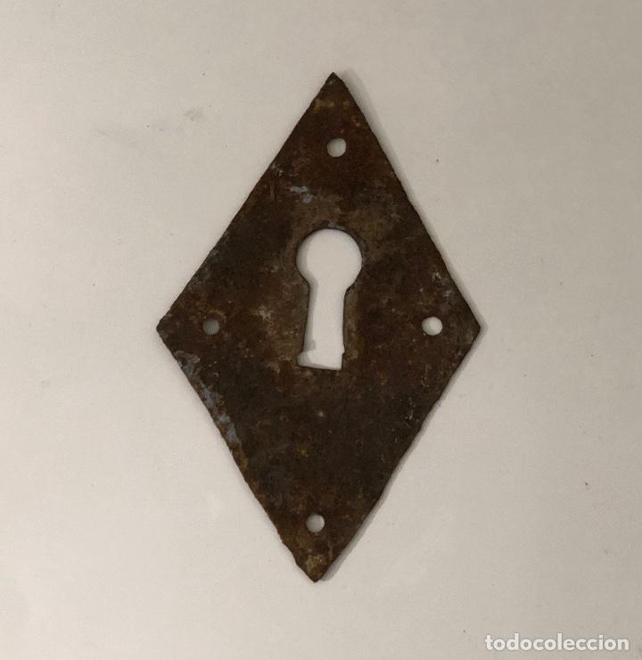 CERRADURA (Antigüedades - Técnicas - Cerrajería y Forja - Cerraduras Antiguas)