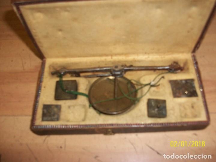 Antigüedades: ANTIGUA BALANZA DE JOYERO-SIGLO XIX - Foto 3 - 111294971