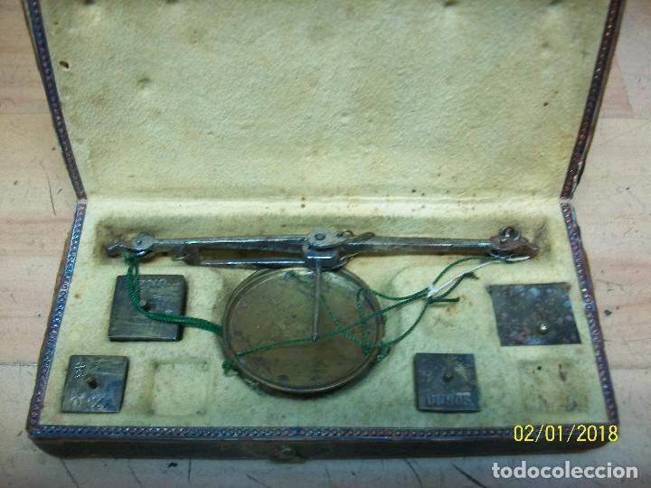 Antigüedades: ANTIGUA BALANZA DE JOYERO-SIGLO XIX - Foto 6 - 111294971