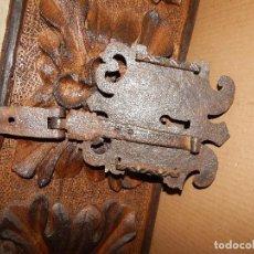Antigüedades: CERRADURA DE FORJA DEL XVII BONITOS DETALLES . Lote 111324895