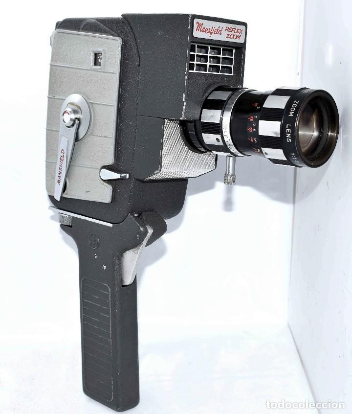 Antigüedades: EXCELENTE Y RARA CAMARA DE CINE A CUERDA..8mm..MANSFIELD REFLEX ZOOM..1960..MUY BUEN ESTADO.FUNCIONA - Foto 20 - 111327295