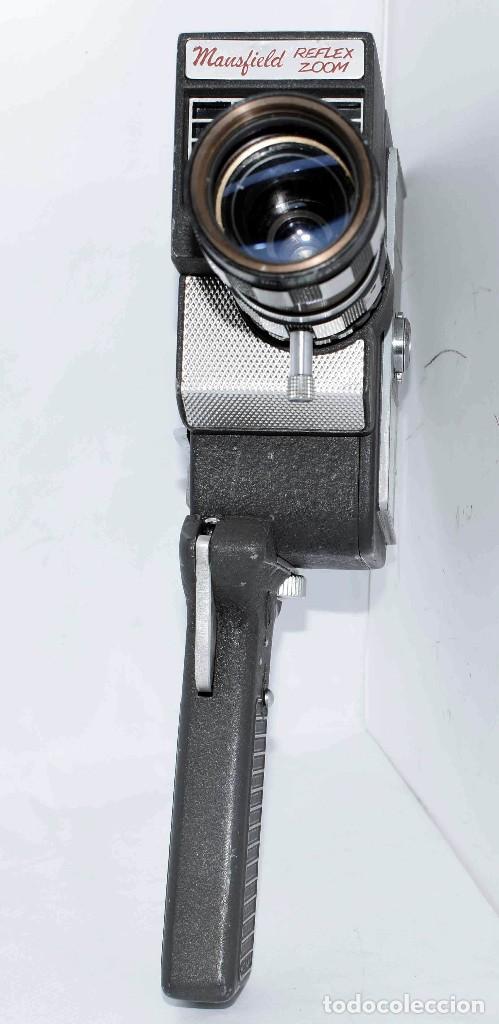 Antigüedades: EXCELENTE Y RARA CAMARA DE CINE A CUERDA..8mm..MANSFIELD REFLEX ZOOM..1960..MUY BUEN ESTADO.FUNCIONA - Foto 21 - 111327295