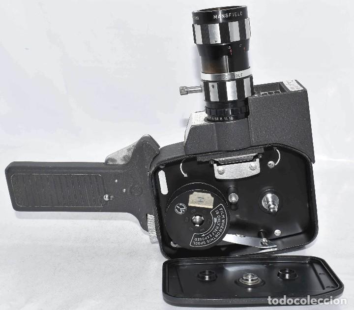 Antigüedades: EXCELENTE Y RARA CAMARA DE CINE A CUERDA..8mm..MANSFIELD REFLEX ZOOM..1960..MUY BUEN ESTADO.FUNCIONA - Foto 22 - 111327295
