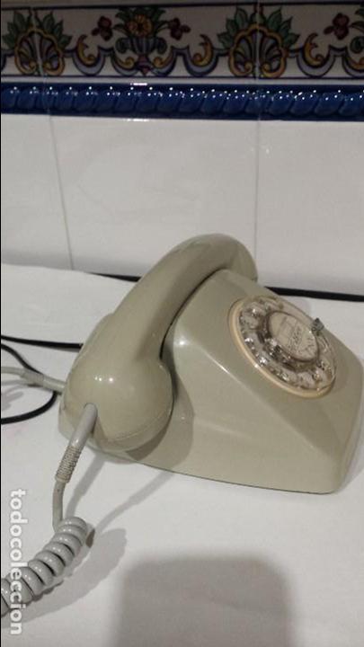 TELEFONO DE RUEDA HERALDO CITESA MALAGA (Antigüedades - Técnicas - Teléfonos Antiguos)
