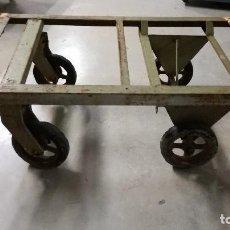 Antigüedades - carro industrial antiguo - 111404435