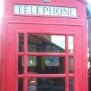 Teléfonos: CABINA TELÉFONICA INGLESA HIERRO FUNDIDO. LONDRES.ORIGINAL DE 1936. COMPLETA CON TELÉFONO A MONEDAS.. Lote 111413451