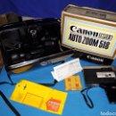 Antigüedades: CAMARA VIDEO CANON SUPER 8 AUTO ZOOM 518. Lote 124476406