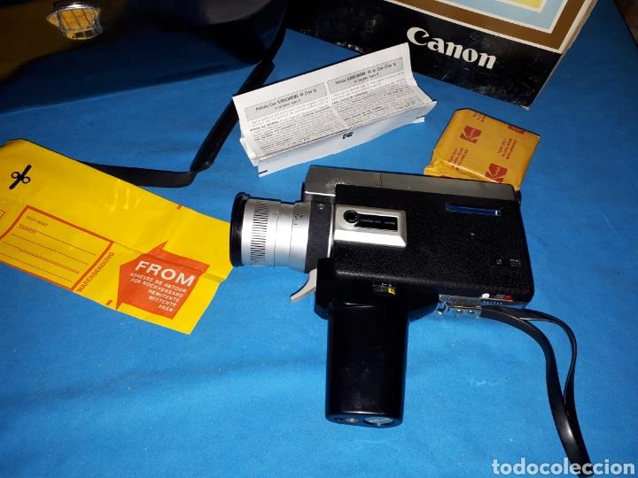 Antigüedades: CAMARA VIDEO CANON SUPER 8 AUTO ZOOM 518 - Foto 4 - 246948975