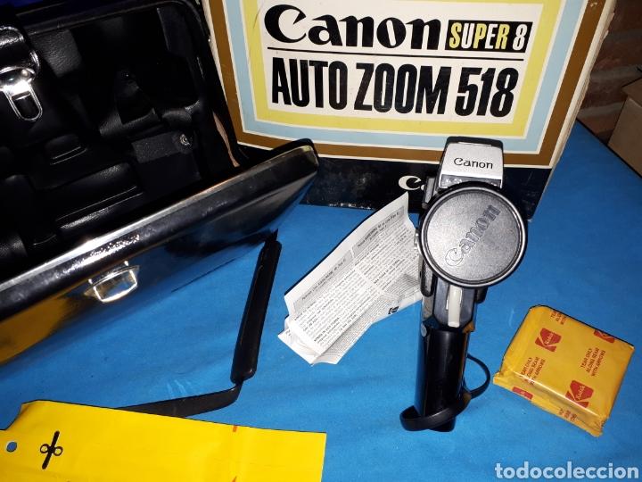 Antigüedades: CAMARA VIDEO CANON SUPER 8 AUTO ZOOM 518 - Foto 5 - 246948975