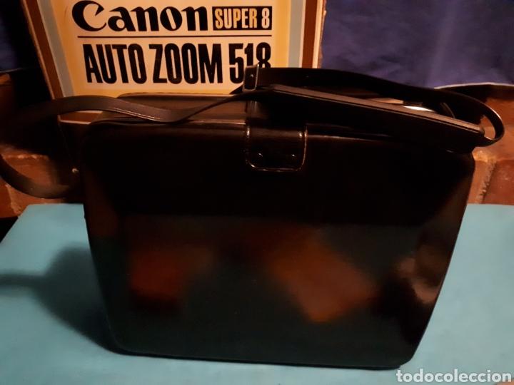 Antigüedades: CAMARA VIDEO CANON SUPER 8 AUTO ZOOM 518 - Foto 7 - 246948975