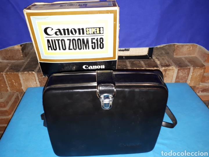 Antigüedades: CAMARA VIDEO CANON SUPER 8 AUTO ZOOM 518 - Foto 10 - 246948975