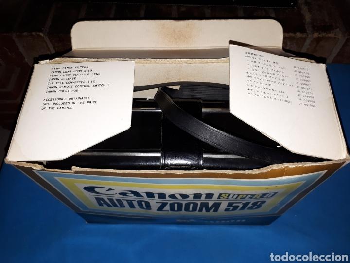 Antigüedades: CAMARA VIDEO CANON SUPER 8 AUTO ZOOM 518 - Foto 11 - 246948975