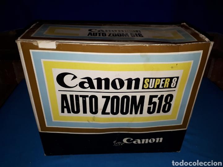 Antigüedades: CAMARA VIDEO CANON SUPER 8 AUTO ZOOM 518 - Foto 12 - 246948975
