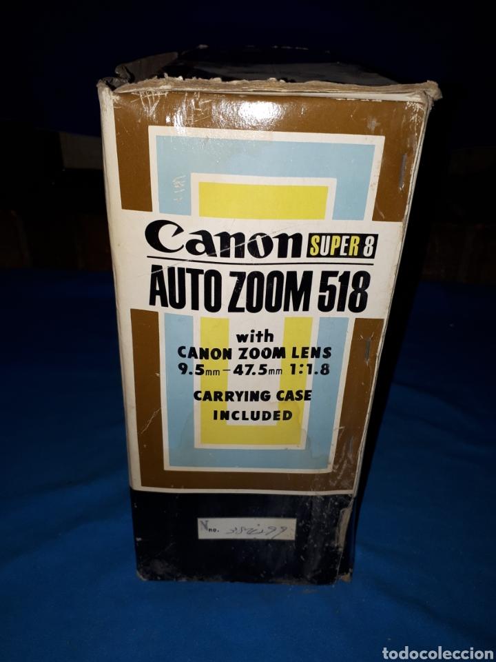 Antigüedades: CAMARA VIDEO CANON SUPER 8 AUTO ZOOM 518 - Foto 13 - 246948975